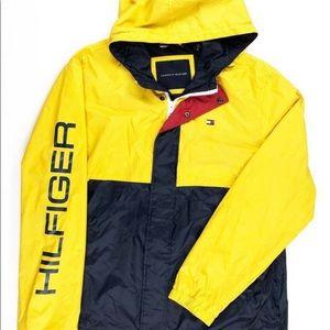 Tommy Hilfiger yellow/navy windbreak jacket